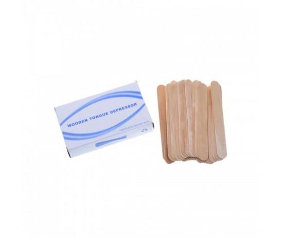 Дървени шпатули 100 бр